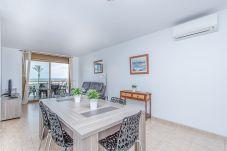 Apartament en Empuriabrava - 0086-BLAUCEL Apartament amb vista al mar
