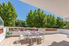 Apartament en Empuriabrava - 0187-SANT MORI Apartament amb gran terrassa i wifi