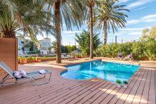 Villa in Empuriabrava - 0109-PANI Haus am Kanal mit Pool und Liegeplatz